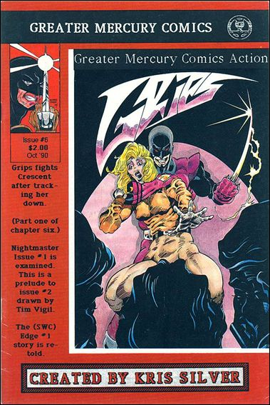 Greater Mercury Comics Action  6-A by Greater Mercury