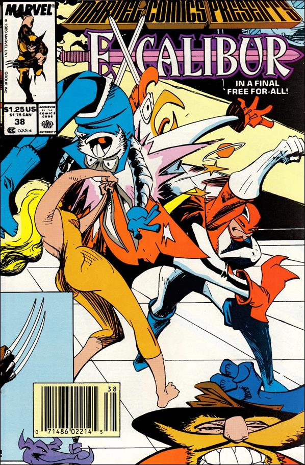 Marvel Comics Presents (1988) 38-A by Marvel