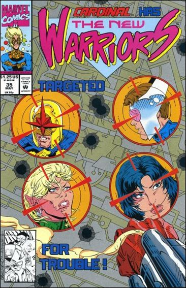 New Warriors (1990) 35-A by Marvel
