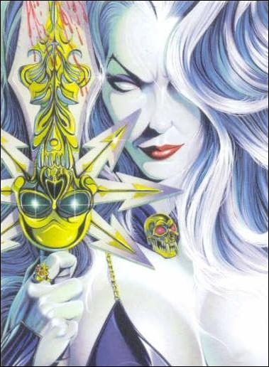 Lady Death and the Women of Chaos!: Love Bites (Base Set) 36-A by Comic Images