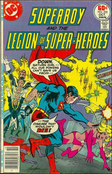 Superboy & the Legion of Super-Heroes 232-A by DC