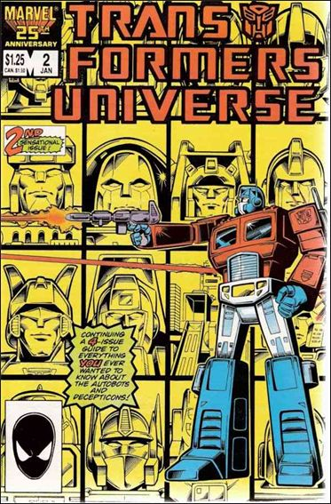 Transformers Universe (1986) 2-A by Marvel