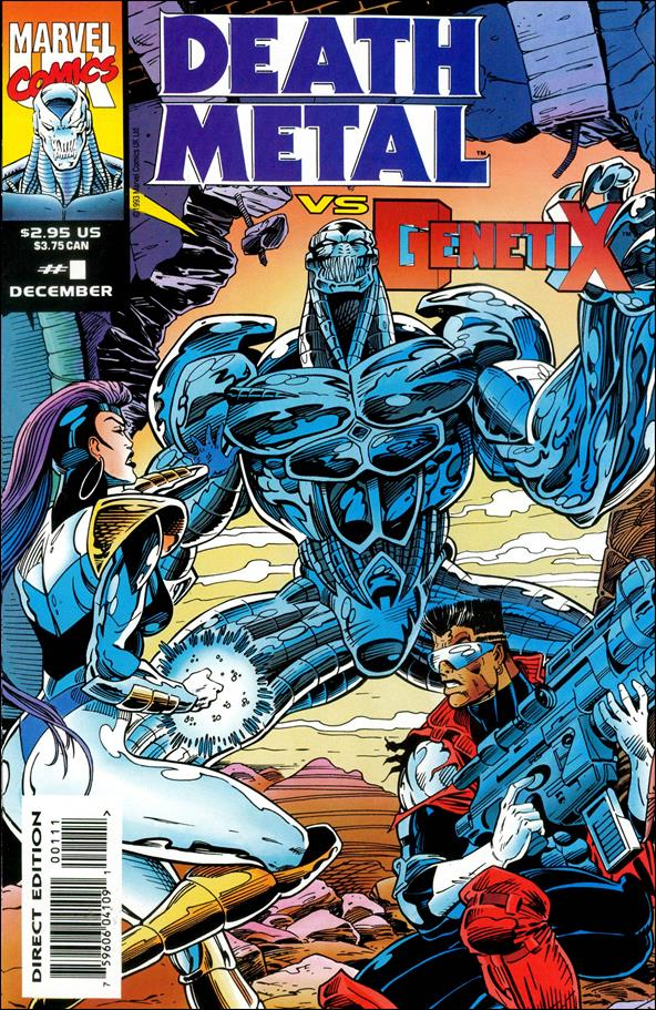 Death Metal vs Genetix (UK) 1-A by Marvel UK