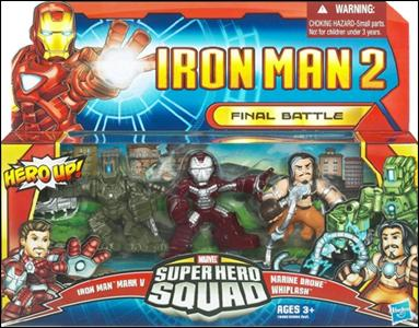 Iron Man 2 - Marvel Super Hero Squad (Box Sets) Final Battle by Hasbro