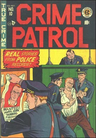 Crime Patrol (1948) 10-A by E.C.