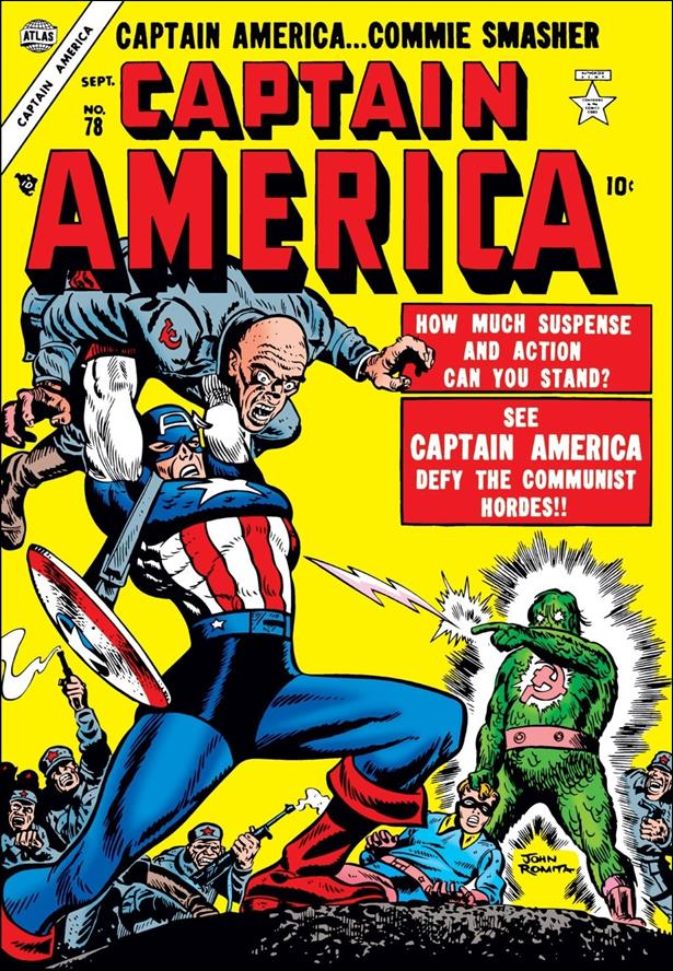 Captain America Comics (1941) 78-A by Timely