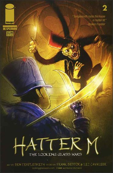 Looking Glass Wars: Hatter M 2-A by Image