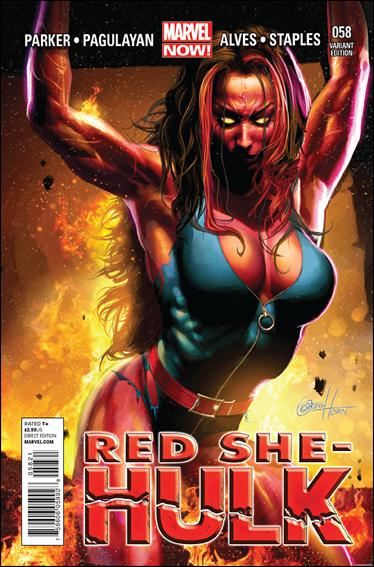Red She-Hulk 58-C by Marvel