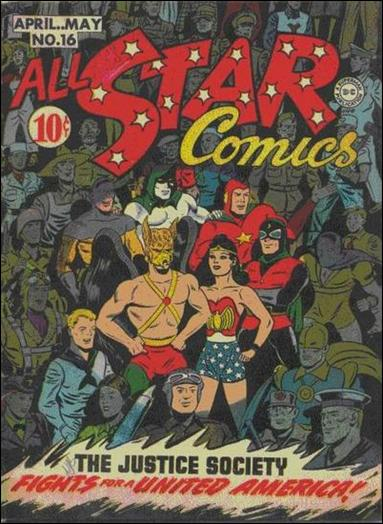 All Star Comics (1940) 16-A by DC