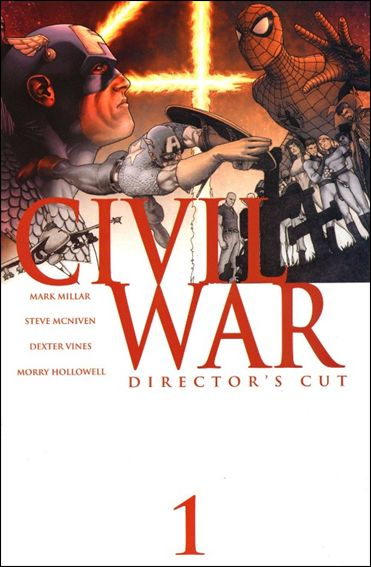 Civil War (2006) 1-F by Marvel