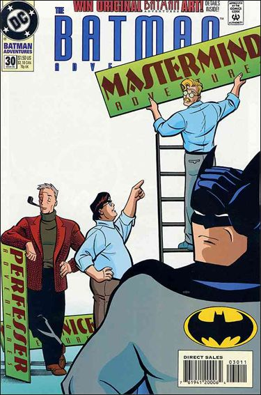 Batman Adventures (1992) 30-A by DC