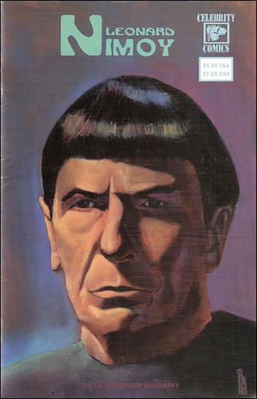 Leonard Nimoy The Unauthorized Biography 1-A by Celebrity Comics