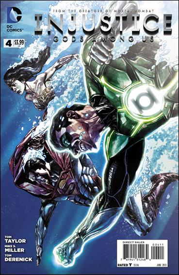 Injustice: Gods Among Us 4-A by DC