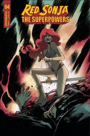 Red Sonja: The Superpowers 4-F