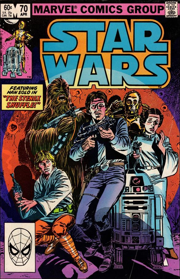 Star Wars (1977) 70-A by Marvel