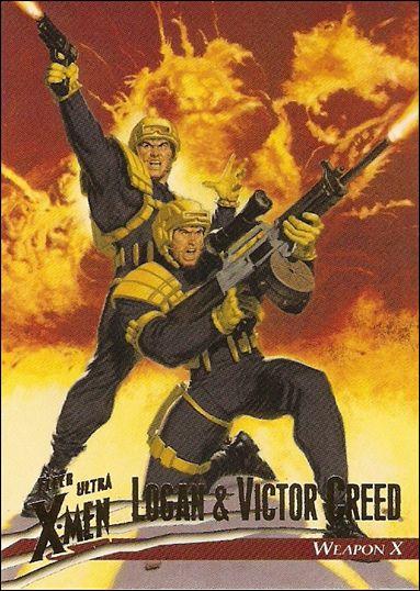 1996 Fleer Ultra X-Men: Wolverine (Base Set) 9-A by Fleer