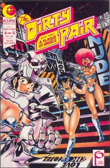 Dirty Pair III 4-A by Eclipse