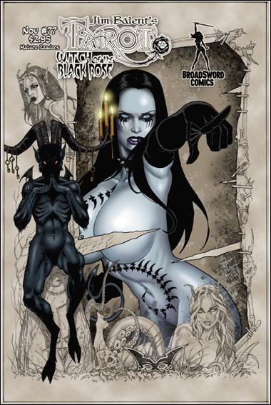 Tarot: Witch of the Black Rose 77-A by BroadSword Comics