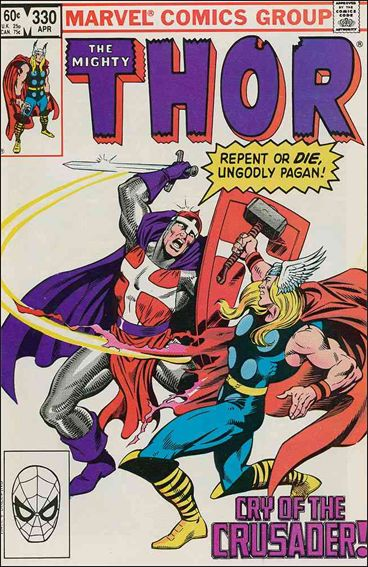 Thor (1966) 330-A by Marvel