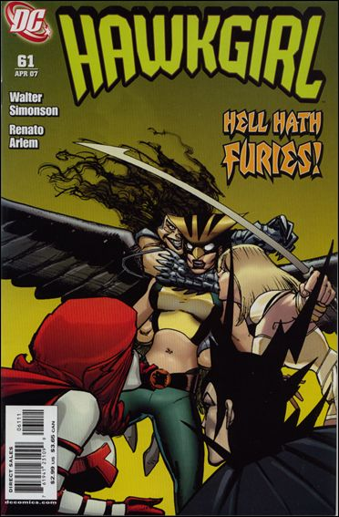 Hawkgirl 61-A by DC