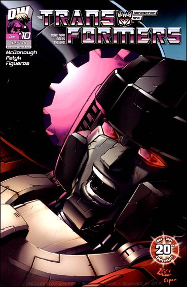 Transformers Generation One (2004) 10-A by Dreamwave