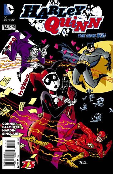 Harley Quinn (2014) 14-B by DC