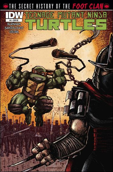 Teenage Mutant Ninja Turtles: The Secret History of the Foot Clan 4-C by IDW