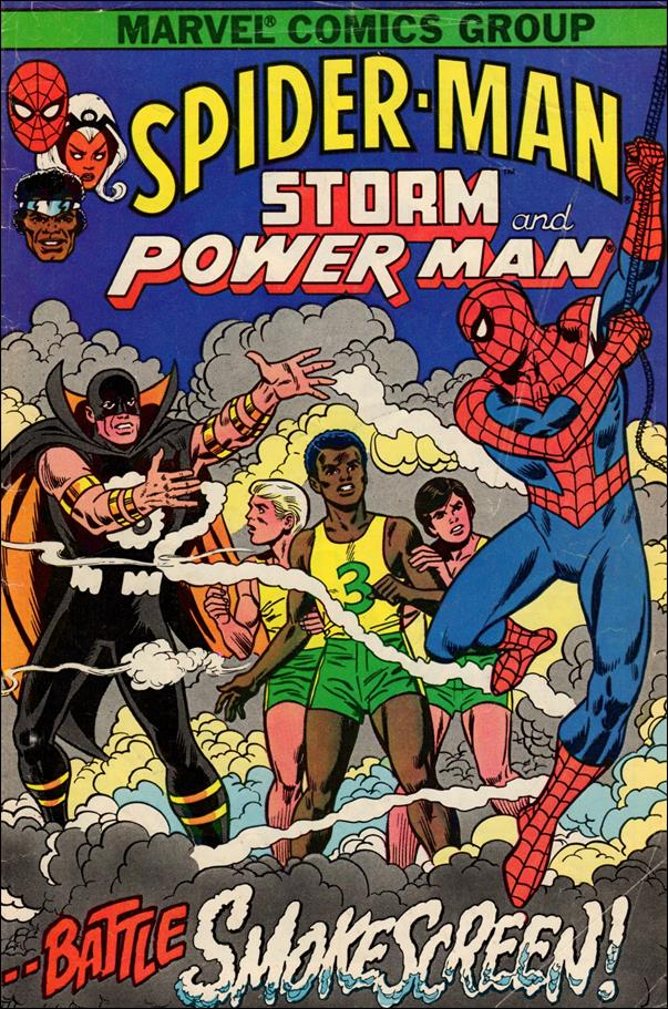 Spider-Man, Storm and Power Man 1-A by Marvel