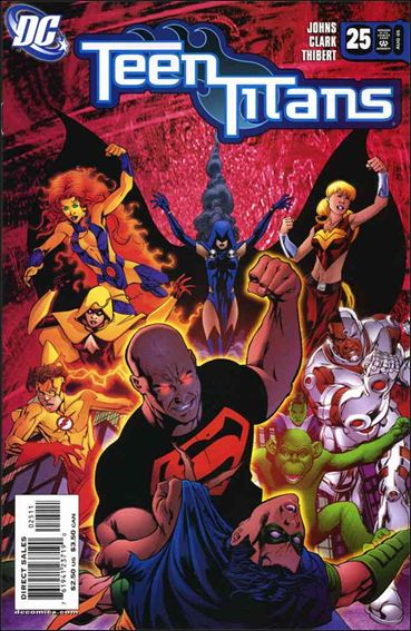 Teen Titans (2003) 25-A by DC
