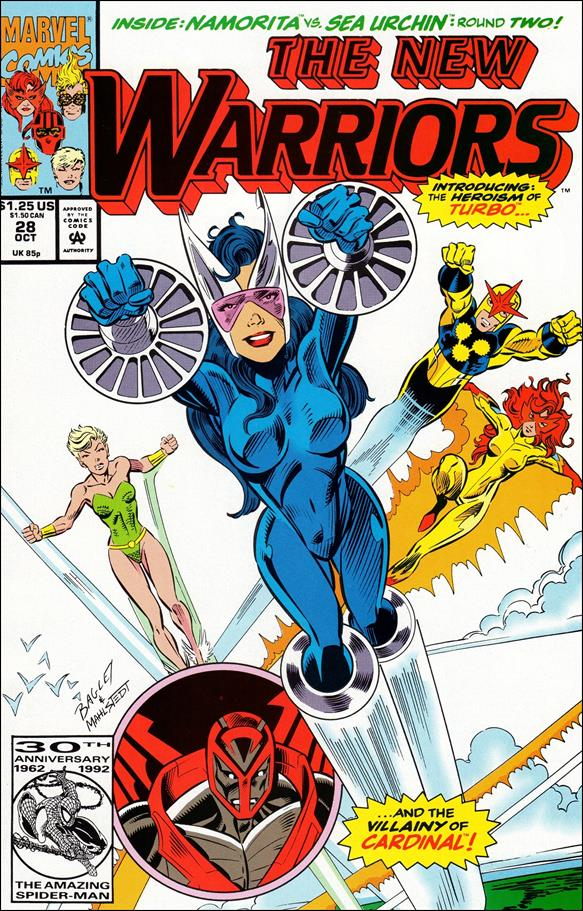 New Warriors (1990) 28-A by Marvel