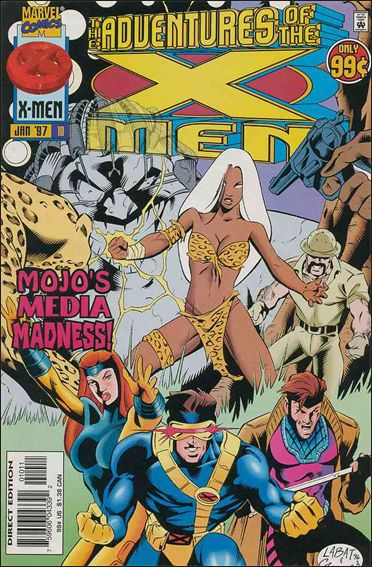 Adventures of the X-Men 10-A by Marvel