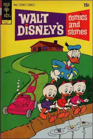 Walt Disney's Comics and Stories (1940) 381-A by Dell