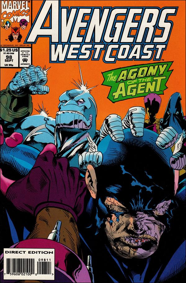 Avengers West Coast 98-A by Marvel