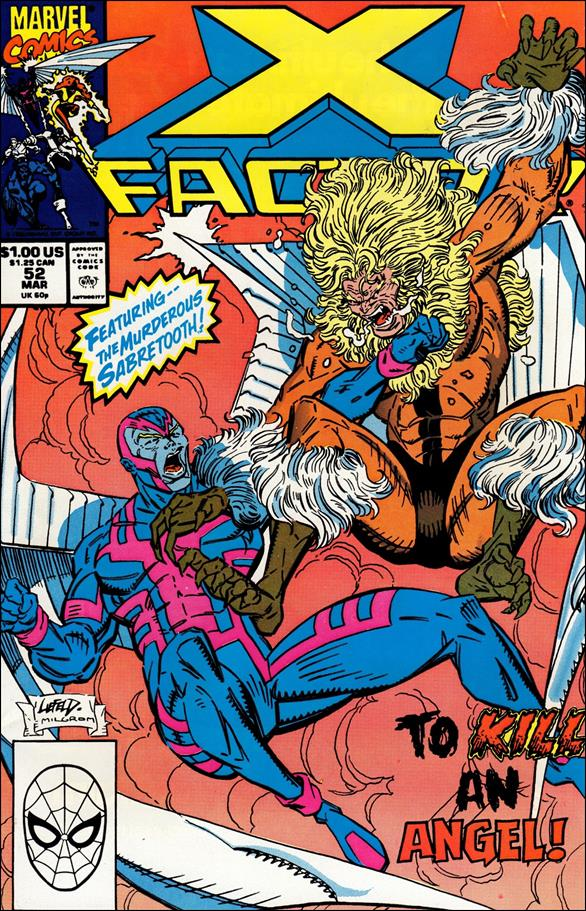 X-Factor (1986) 52-A by Marvel