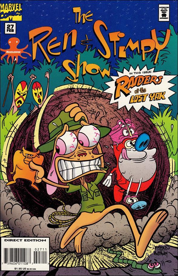 Ren & Stimpy Show 27-A by Marvel