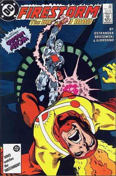 Fury of Firestorm 63-A by DC