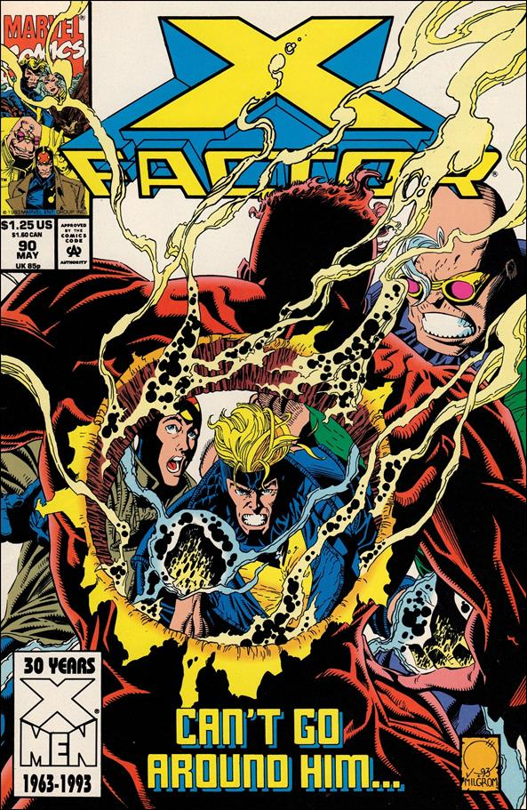 X-Factor (1986) 90-A by Marvel