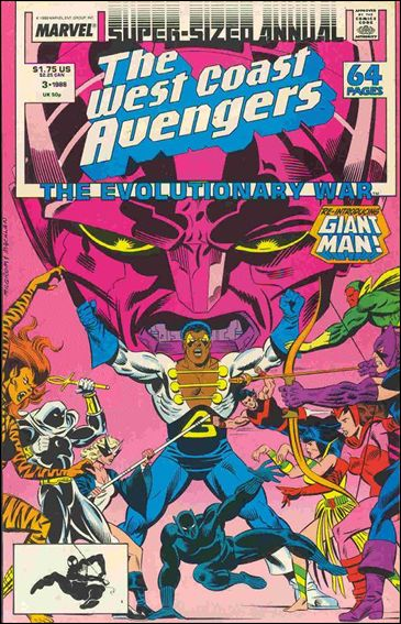West Coast Avengers Annual 3-A by Marvel