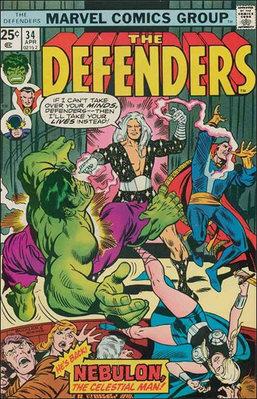 Defenders (1972) 34-A by Marvel