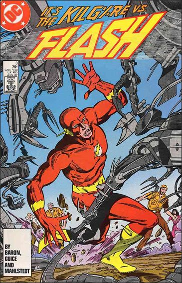 Flash (1987) 3-A by DC