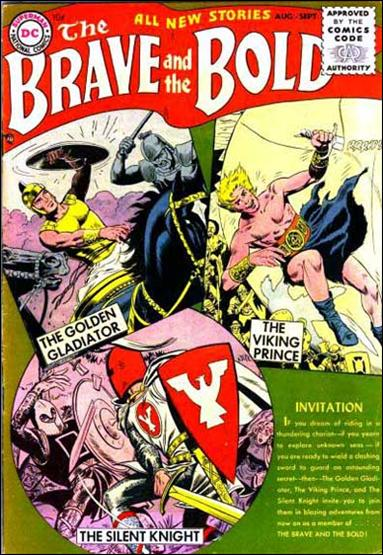 Brave and the Bold (1955) 1-A by DC