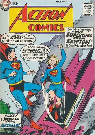 Action Comics (1938) 252-A by DC