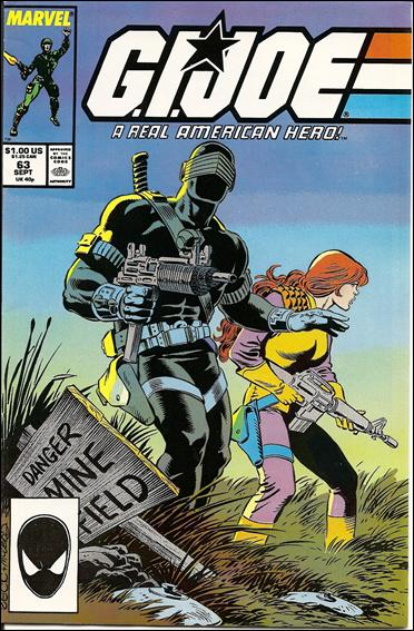 G.I. Joe: A Real American Hero 63-A by IDW