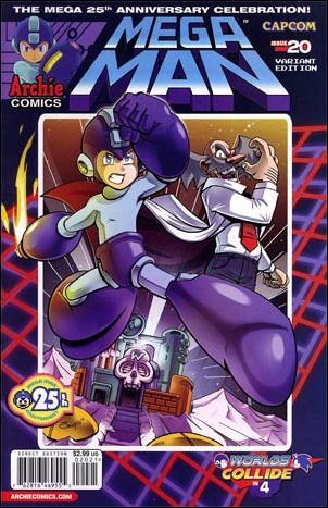 Mega Man 20-B by Archie
