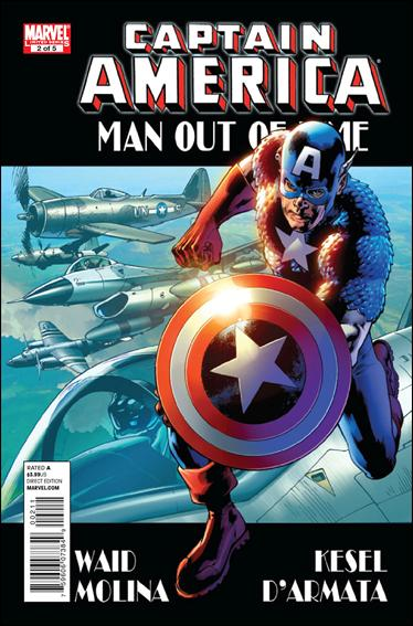 Captain America: Man Out of Time 2-A by Marvel