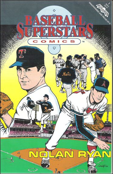 Baseball Superstars Comics 1-A by Revolutionary