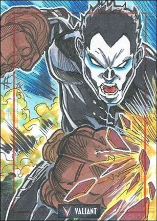 2013 Valiant Comics Preview Trading Card Set (Sketch Card Subset) EH-03-A