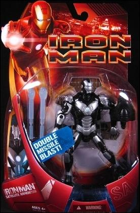 Iron Man (Movie) Iron Man (Satellite Armor - Silver) by Hasbro