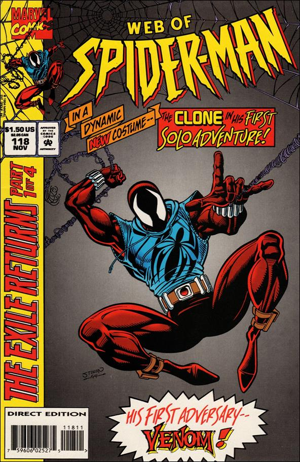 Web of Spider-Man (1985) 118-A by Marvel
