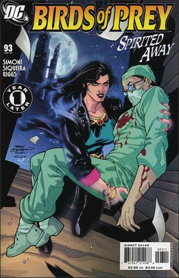 Birds of Prey (1999) 93-A by DC
